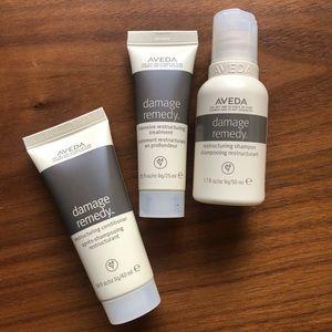 AVEDA Damage Remedy Mask, Shampoo & Conditioner
